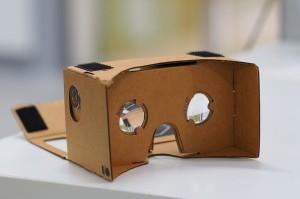 Google's virtual reality cardboard mount aims to democratize VR everywhere.